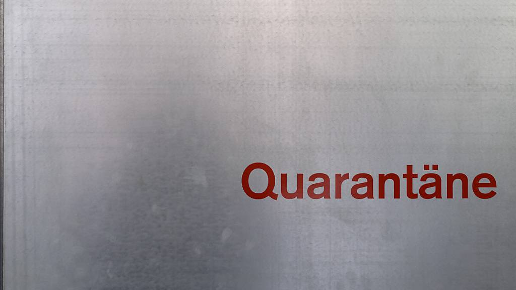 Quarantänepflicht für Reisende aus dem Vereinigten Königreich