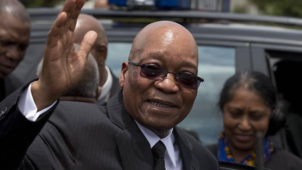 Südafrikas Präsident Jacob Zuma muss dem Staat die Kosten für den Ausbau seiner Privatresidenz teilweise zurückzahlen. (Archivbild)