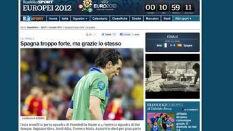 Presseschau nach dem EM-Final Spanien-Italien