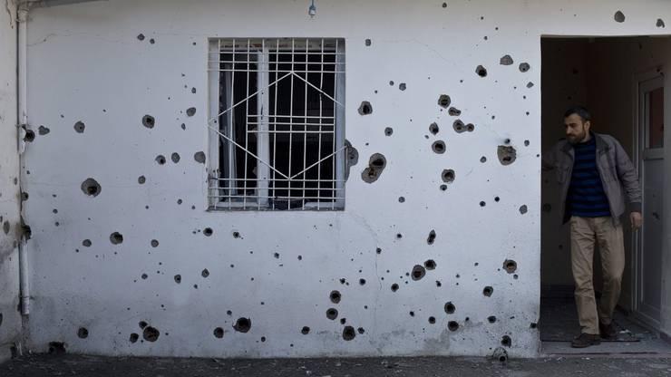 Kugelhagel: Im Südosten der Türkei tobt ein Krieg zwischen der türkischen Armee und der PKK.