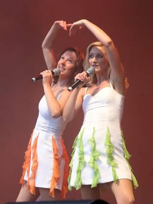 Die Schlagerschätzchen Sigrid und Marina