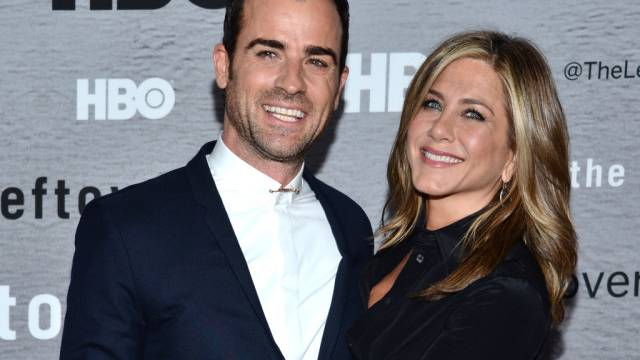 Haben viel zu lachen: Jennifer Aniston und Justin Theroux (Archiv)