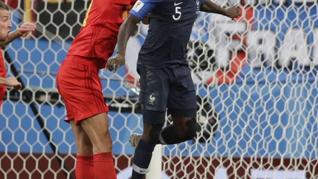 Frankreich steht zum dritten Mal im WM-Final