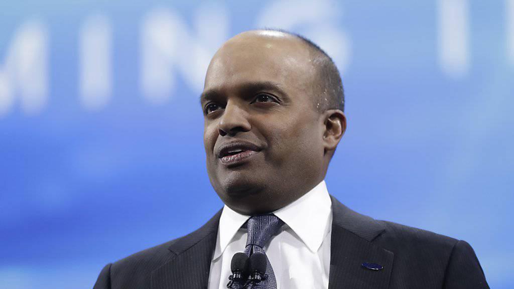 """Hat sich """"unangemessen"""" verhalten und muss seinen Sessel beim Autobauer Ford räumen: Top-Manager Raj Nair. Er leitete unter anderem das Nordamerika-Geschäft. (Archivbild)"""