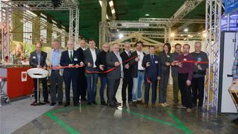 Eröffnung zur Gewerbeausstellung Gewa in Biberist