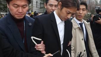 Der südkoreanische K-Pop-Star Jung Joon Young muss wegen Sexualverbrechen für sechs Jahre ins Gefängnis. (Archivbild)
