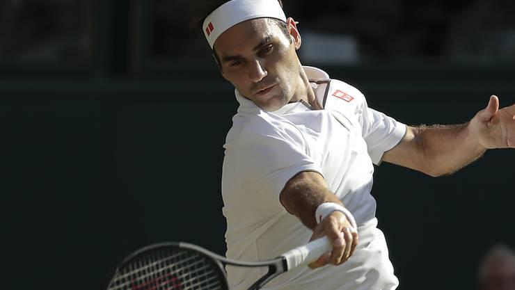 Roger Federer (im Bild) verlor acht der letzten zehn Duelle gegen Novak Djokovic
