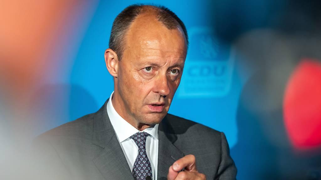 CDU-Politiker Friedrich Merz spricht von einem «Tiefpunkt unserer Zusammenarbeit».
