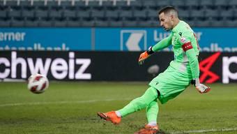 Sions Torhüter Kevin Fickentscher sagt: «Der Sport sollte uns nicht etwas aufzwingen dürfen».