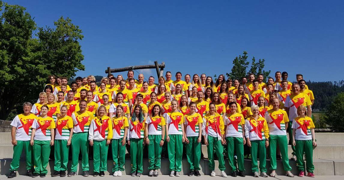 Die ganze Mannschaft des STV Balgach. (Bild: stvbalgach.ch)