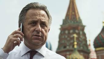 Seine Tage als Chef des russischen Fussballverbandes und WM-Organisator könnten gezählt sein: Witali Mutko