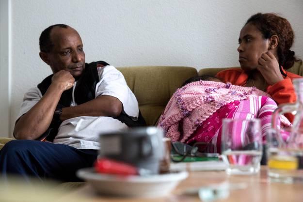 Die Unterstützer der Asylbewerber erhoffen sich, dass die Familie aufgrund ihrer Integration eine humanitäre Aufenthalsbewilligung erhält.