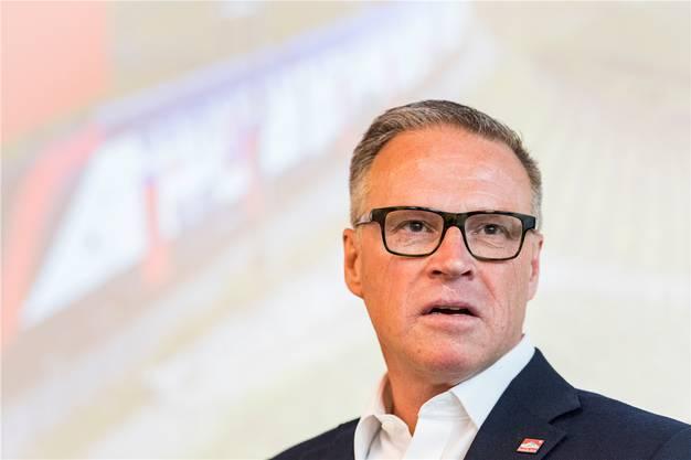 Andreas Meyer, CEO der SBB. Er hat die Züge bei Bombardier bestellt, zufrieden ist er nicht.