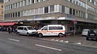 Banküberfall an der Zürcher Langstrasse