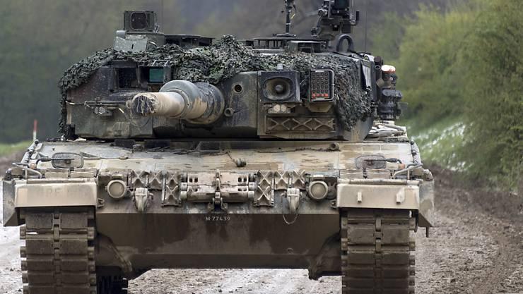In Zukunft müssen die Bodentruppen der Schweizer Armee möglicherweise ohne Kampfpanzer auskommen. (Archivbild)