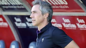 Der Portugiese Paulo Sousa ist aktuell Trainer bei der AC Florenz - nun bekundet aber Wolfsburg Interesse an ihm.