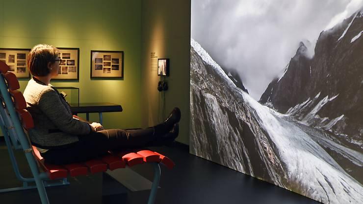 In der aktuellen Ausstellung im Landesmuseum Zürich lassen sich Wetterphänomene wie Sonne, Blitz und Wolkenbruch entspannt und im Trockenen beobachten.