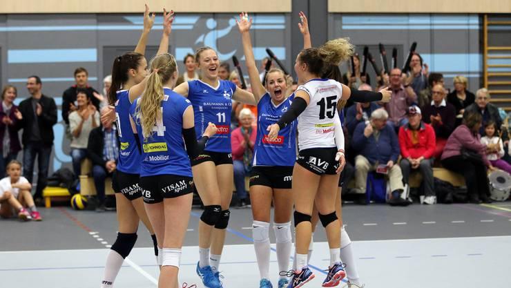Sm'Aesch Pfeffingen trifft im Cup-Halbfinal auf Franches Montagnes.