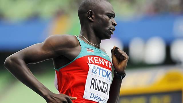 Olympiasieger David Rudisha kommt nach Aarau.