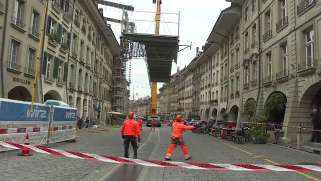 Zittrige Angelegenheit in Berner Altstadt