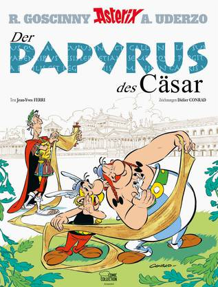 Asterix und der Papyrus des Cäsar.