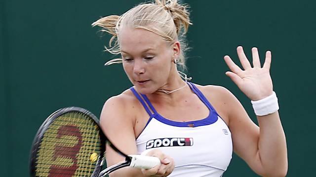 Kiki Bertens stand gegen Viktorija Golubic auf verlorenem Posten