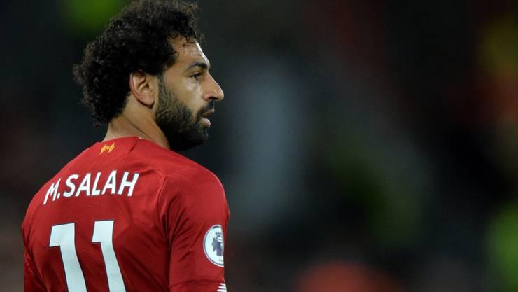 Mohamed Salah ist schon nach dem ersten Spiel in der Torschützenliste aufgeführt
