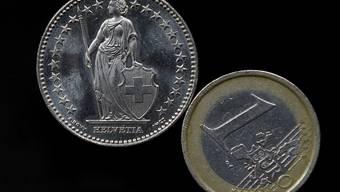 Ein Euro war erstmals seit März wieder mehr als 1,06 Franken wert. (Symbolbild)