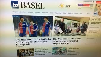Die Homepages der bz Basel und der Basellandschaftlichen Zeitung sind neu strukturiert und bieten mehr Inhalt aus der Region.