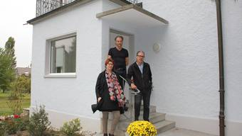 In diesem renovierten Haus bilden Demenzkranke eine Wohngruppe