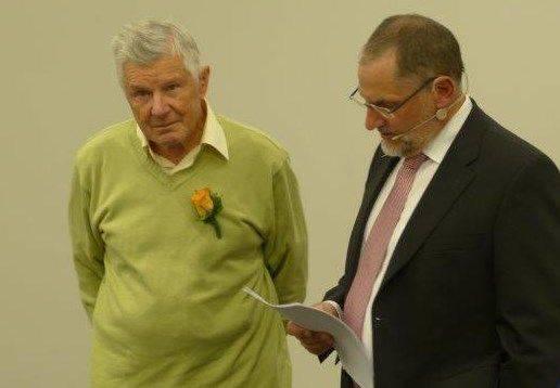Rudolf Zehnder (70) und Heinz Frei (Präsident).