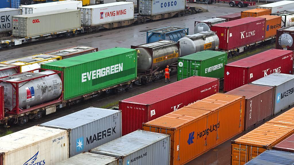 Der Güterverkehr soll in Zukunft auch unterirdisch rollen. (Archivbild)