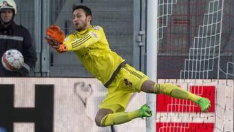 Mirko Salvi wird im nächsten halben Jahr für den FC Lugano das Tor hüten.