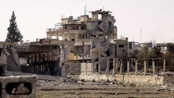 In Damaskus ist es erneut zu Raketenangriffen gekommen. (Archivbild)