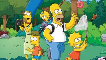 """""""The Simpsons"""" halten nun den Rekord als US-Serie mit den meisten Folgen. (Archiv)"""