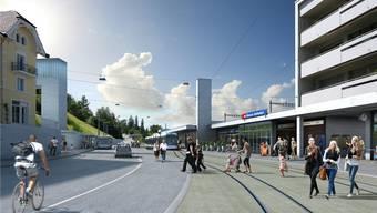Die Stopp-Initiative will verhindern, dass der Limmattalbahn-Abschnitt von Schlieren nach Killwangen-Spreitenbach (Bild) gebaut wird.