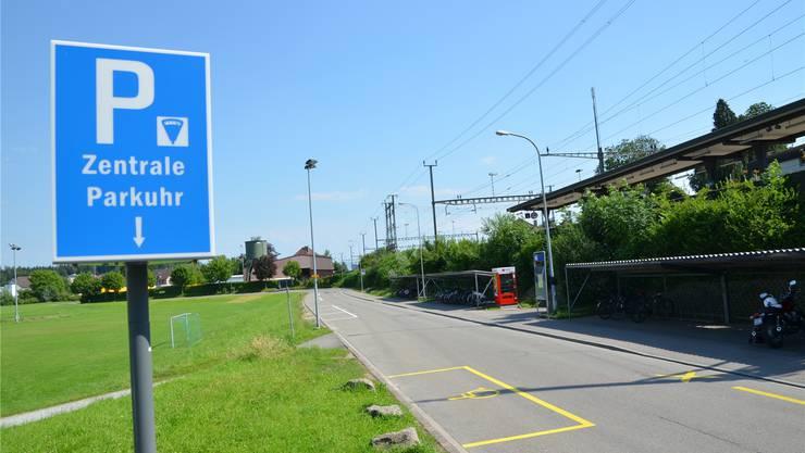 Fussballplatz Brüel: Viele freie Plätze, wenn kein Spiel angesagt ist.