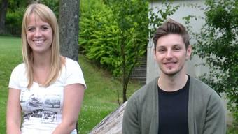 Janina Rüfenacht und David Bieli legten dem Gemeinderat einen umfassenden Bericht vor. bw