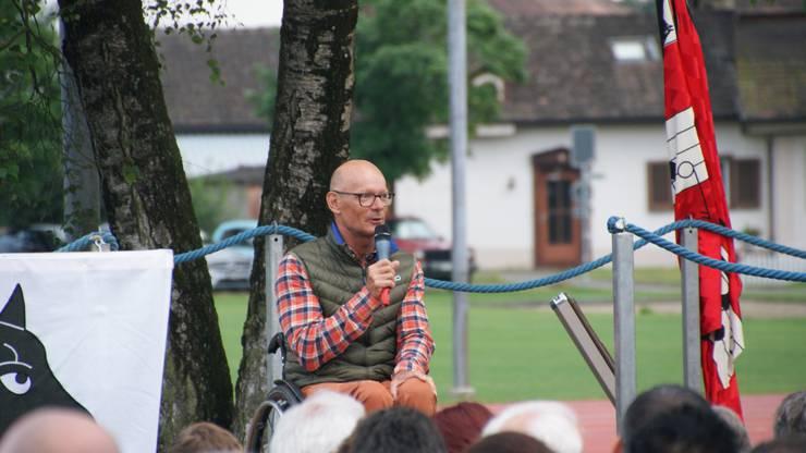 (3) Gastredner Heinz Frei, Rollstuhlsportler
