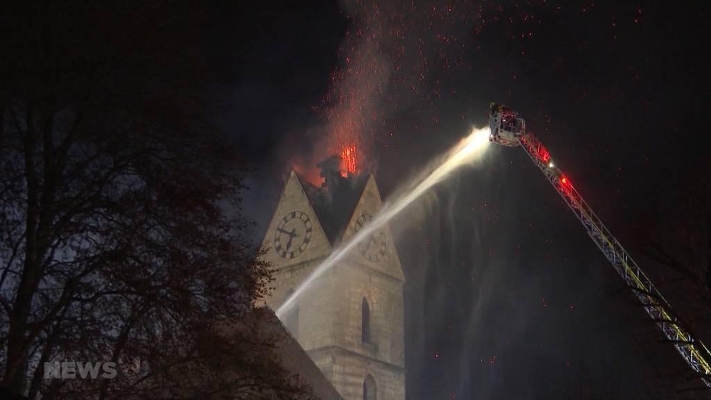 Nach Kirchenbrand: Exklusive Bilder vom Inneren