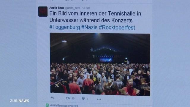 Polizei wegen Neonazi-Konzert kritisiert