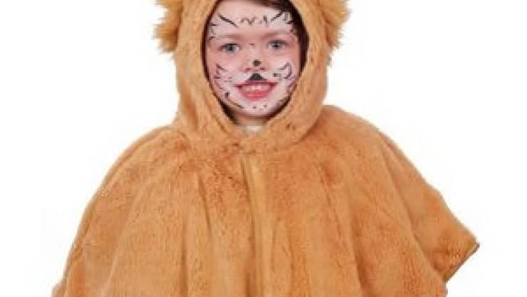 Dieses Löwen-Fasnachtskostüm ist brandgefährlich und sollte deshalb nicht mehr getragen werden.