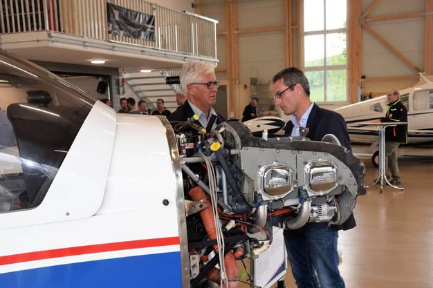 Die neue Maintenance auf dem Flugplatz Birrfeld ist eingeweiht.