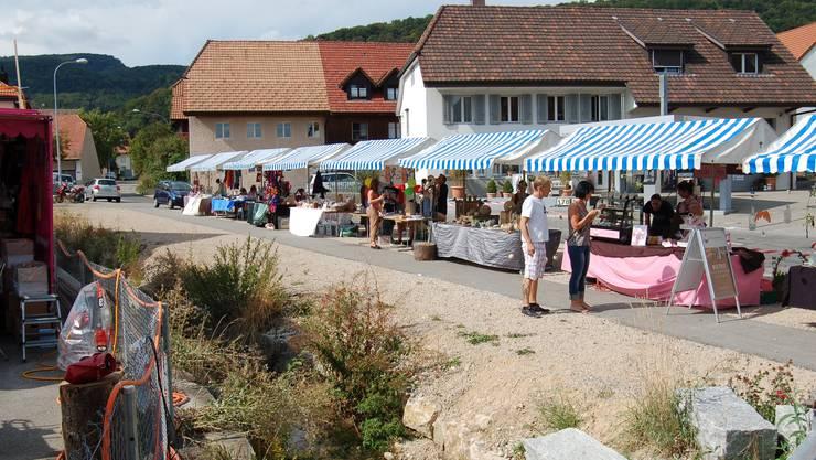 In Lostorf findet zum 40. Mal der Dorfmäret statt. (Archivbild)