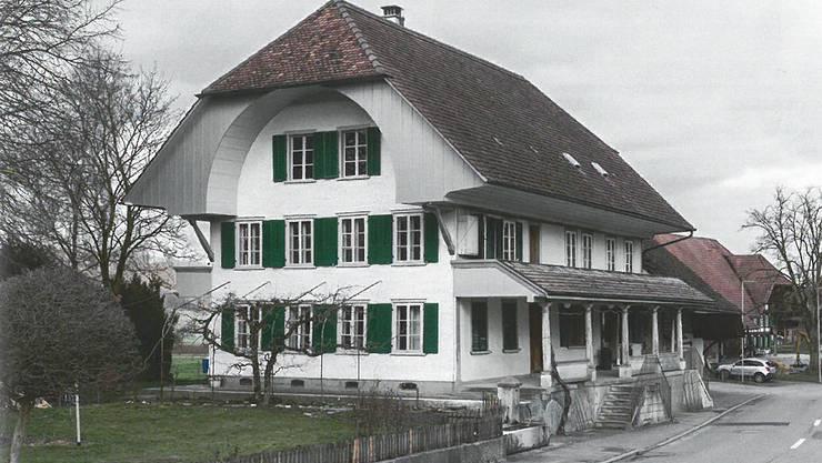 In alter Schönheit: Das renovierte biedermeierliche Wohnhaus in Messen.