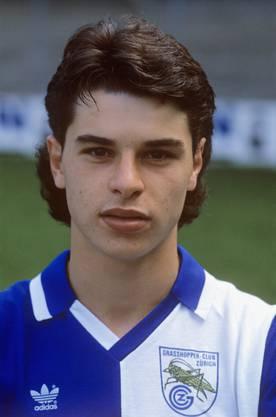 1987: Ciriaco Sforza kommt bei den Grasshoppers in die 1. Mannschaft.