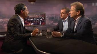 «Jetzt haben Sie endlich mal einen Primeur in der Sendung»: Der ehemalige Fifa-Manager Rino Büchel spricht bei «Schawinski» über Blatters Lohnabrechnungen.
