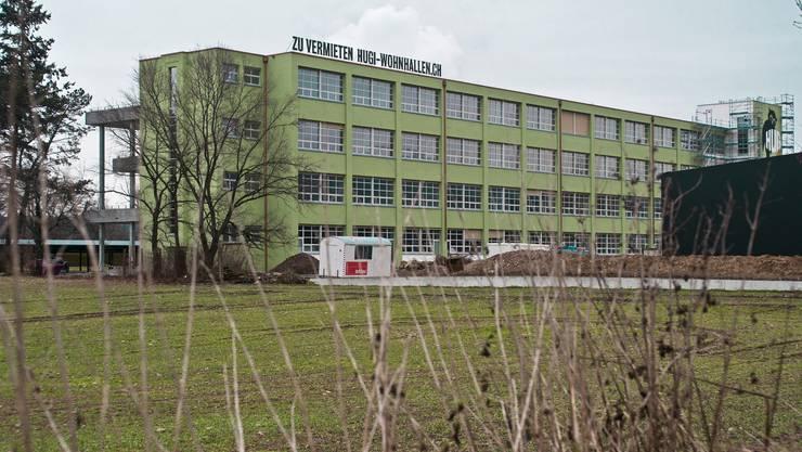 Die ehemalige Schuhfabrik Hugi in Dulliken wurde zu Wohnungen und Lofts umgebaut. Nun zieht Radio 32 für eine Woche ein.