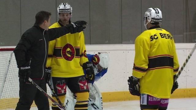 SCB startet sein Hockeytraining