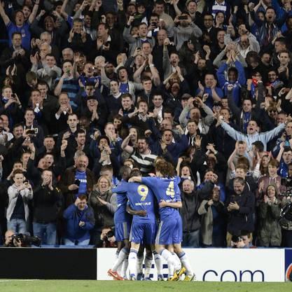 Jubel bei Chelsea